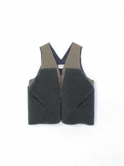 beta post / insulation boa vest bag  /khaki