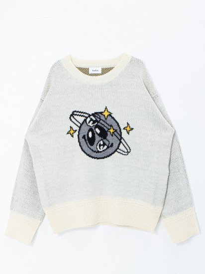 kudos /NUTS! PULLOVER /white