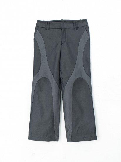chloma / chromosome 3pocket pants /ドビーブラック