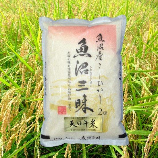 魚沼三昧「天日干米」2kg