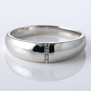 メンズ リング キュービックジルコニア シルバー シンプル 指輪 sv925 男性用