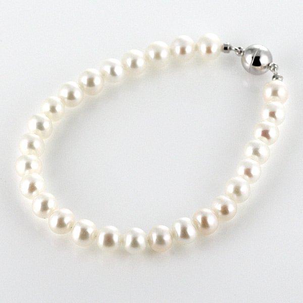 ブレスレット パール 真珠 ブラス ブレスレット 6月誕生石 プレゼント 人気 おすすめ レディース 女性
