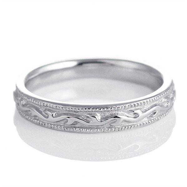 ペアリング 結婚指輪 マリッジリング シルバー 銀 レディース 女性 刻印無料 人気 ペア プレゼント Pure Precious