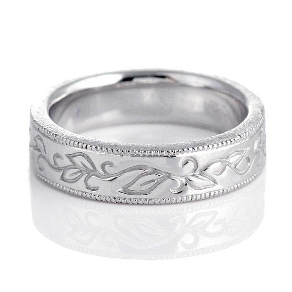 ペアリング 結婚指輪 マリッジリング シルバー 銀 メンズ 男性 刻印無料 人気 ペア プレゼント Pure Precious