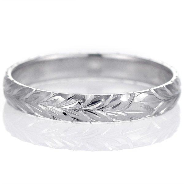 ハワイアンジュエリー ペアリング 人気 シルバー 幅約5mm 指輪 ファッション デザイン マイレ ブランド