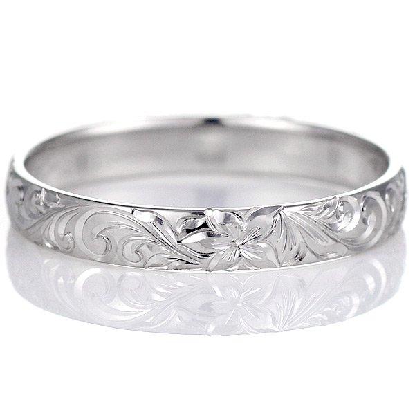 ハワイアンジュエリー ペアリング 人気 シルバー 幅約5mm 指輪 ファッション デザイン スクロール ブランド