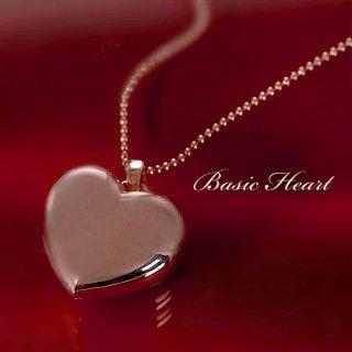 Brand Jewelry me.シルバー925 ピンクゴールドコーティングペンダントネックレスハートプレゼント -QP