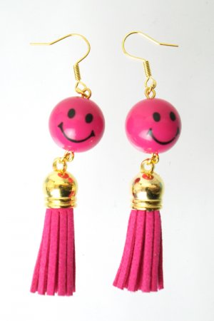 XTS Smile Tassel Vivid Pink Pierce