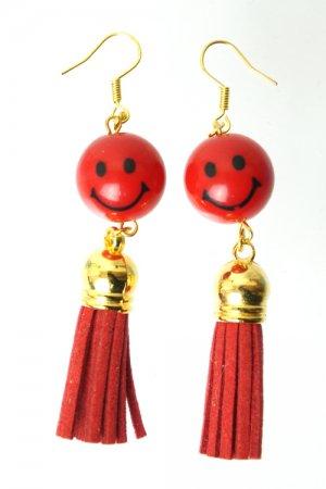 XTS Smile Tassel Red Pierce