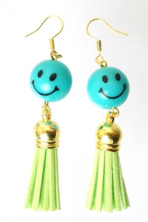 XTS Smile Tassel Green Pierce