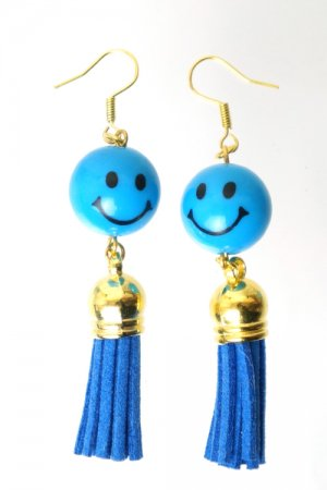 XTS Smile Tassel Blue Pierce