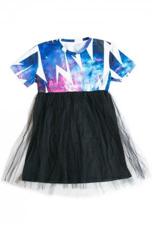【セール】Original Mini Tulle Skirt Dress (Thunder)