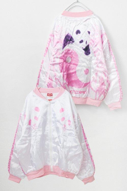 ACDC RAG Printed Light Jacket (Panda White)