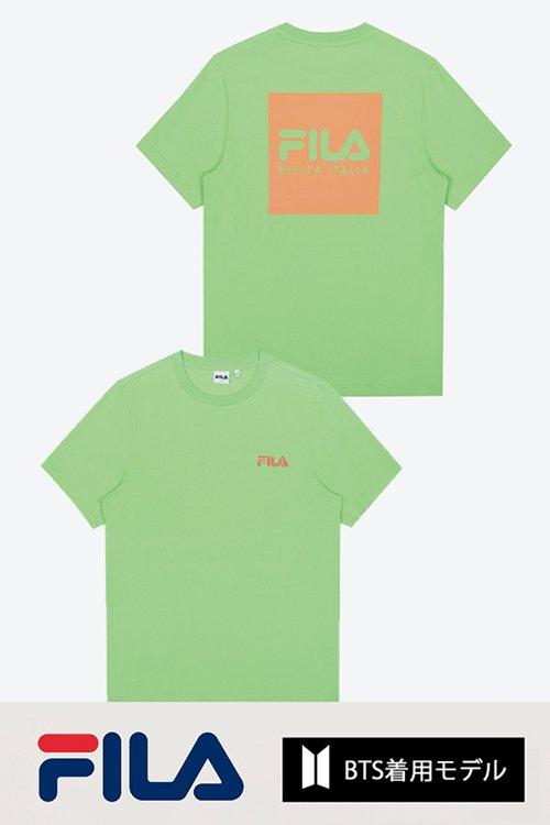 FILA BTS着用モデル Tシャツ (Green)