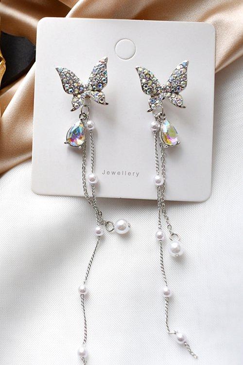 Bijou Butterflies Pierce (Silver)