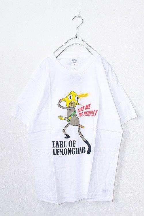 ADVENTURE TIME レモングラブ伯爵 半袖Tシャツ (White)