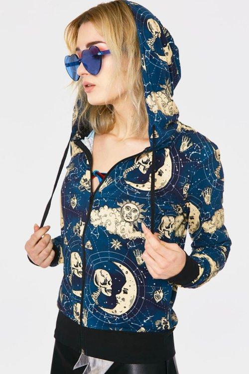 JAWBREAKER Moonstone Hoodie (Blue)