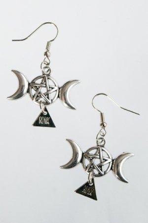 XTS Moon & Pentagram Pierce