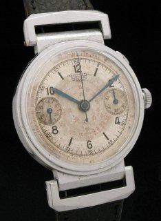タグホイヤー ヴィンテージ クロノグラフ 時計 シングルボタン