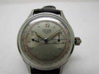 ビンテージ ホイヤー クロノグラフ 男性用腕時計