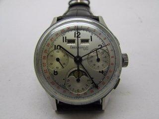 ビンテージ エベラール クロノグラフ 男性用腕時計