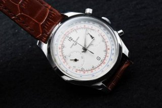 ユリスナルダン クロノグラフ腕時計