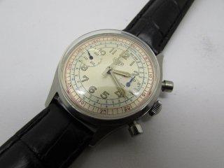 ヴィンテージ タグホイヤー 2つのレジスター クロノグラフ CAL 7730 手巻き メンズ 腕時計
