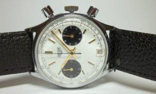 タグホイヤー クロノグラフ 日付表示 ヴィンテージ メンズ時計 手巻き プレ カレラ