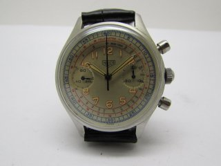 ホイヤー HEUER 男性用クロノグラフ腕時計 CAL 7730