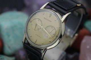 ジャガー・ルクルト プレフューチャーマチック パワーリザーブ CAL.497  男性用腕時計