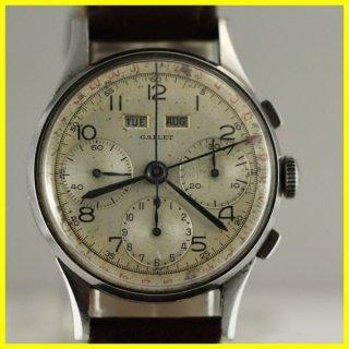 ヴィンテージ ギャレット クロノグラフ(VINTAGE GALLET CHRONOGRAPH )バルジュー72C (VALJOUX 72C ) メンズ機械式時計