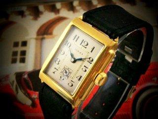 ロレックス(Rolex)ヴィンテージ レクタングラー メンズウォッチ 1930年代