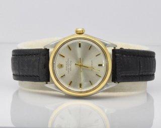 ロレックス(Rolex)ヴィンテージ エア・キング5501 シルバーダイヤルメンズウォッチ 1960年代