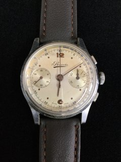 <img class='new_mark_img1' src='https://img.shop-pro.jp/img/new/icons1.gif' style='border:none;display:inline;margin:0px;padding:0px;width:auto;' />希少!BOVET ボヴェ クロノグラフ 手巻き バルジュー84 Valjoux 84