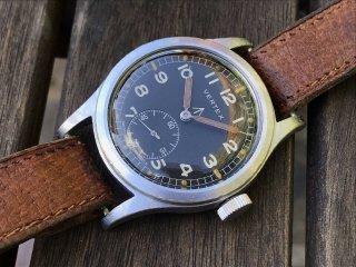 バーテックス WWW ダーティ・ダース 第二次世界大戦 英国軍 ミリタリーウォッチ 1940年代 キャリバー59