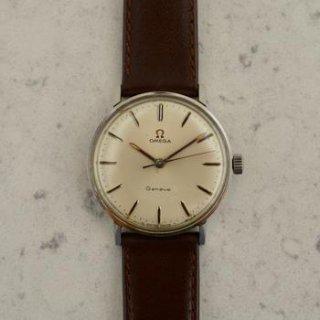 C.1966 ヴィンテージ オメガ シーマスター ジュネーブ腕時計 Cal. Ω 601 型番 135.019 スチール製