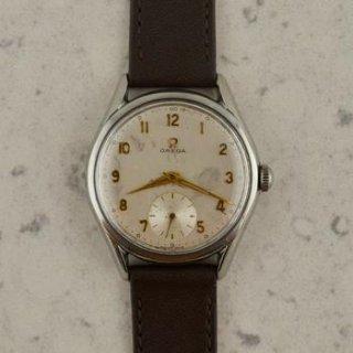 C.1954 ヴィンテージ オメガ ジャンボ カラトラバ腕時計 Cal. Ω 266 型番CK 2791-2 スチール製