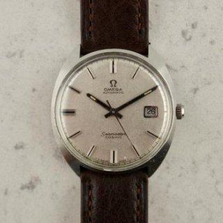 C.1968 ヴィンテージ オメガ 自動式 シーマスター コスミック 腕時計 型番166.026 Ω 565 スチール製