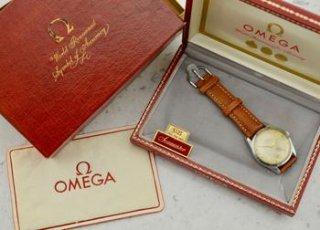C.1956 ヴィンテージ オメガ シーマスター 「ランチェロ」 直径36mm 腕時計 型番 CK 2937-4 スチール製 梱包箱付き
