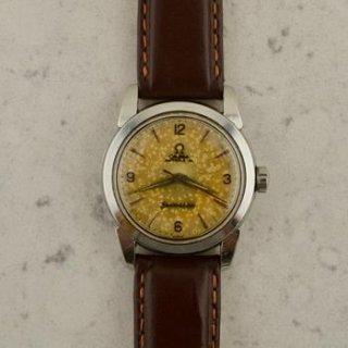 C.1954 ヴィンテージ オメガ シーマスター 腕時計 Cal. Ω 470 型番 2828-4 SC スチール製