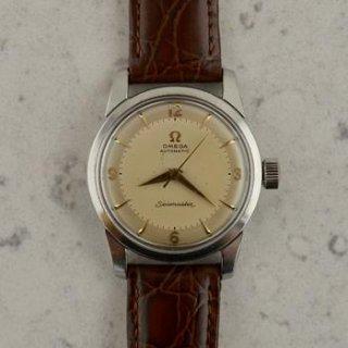 C.1956 ヴィンテージ オメガ シーマスター 自動式 腕時計 Cal. Ω 501 型番2846/2848 スチール製
