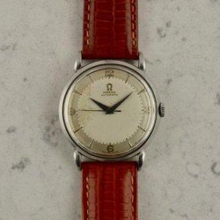 C.1950 ヴィンテージ オメガ 自動式 カラトラバ 腕時計 Cal. Ω 351 型番 2445-1 スチール製