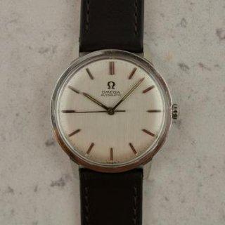 C.1964 ヴィンテージ オメガ 自動式 シーマスター 腕時計 型番165.002 Cal. Ω 550 スチール製