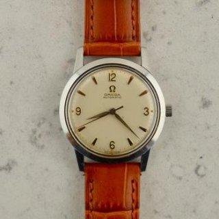 C1958 ヴィンテージ オメガ シーマスター 自動式 腕時計 Cal.Ω 470 型番14773-61 SC スチール製