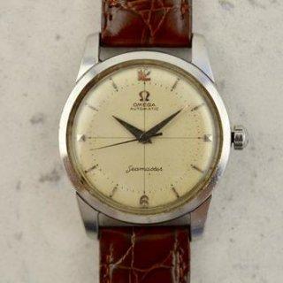 C.1956 ヴィンテージ オメガ シーマスター 自動式 腕時計 型番 2846/2848-18 Cal.500 スチール製