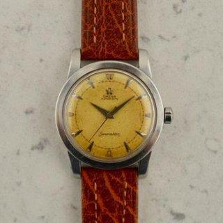 C.1952 ヴィンテージ オメガ 自動式 シーマスター 腕時計 Cal.Ω 354 型番 2577-9 SC スチール製
