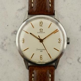 C.1963 ヴィンテージ オメガ シーマスター 30 腕時計 型番 135.007-63 Cal. Ω 286 スチール製