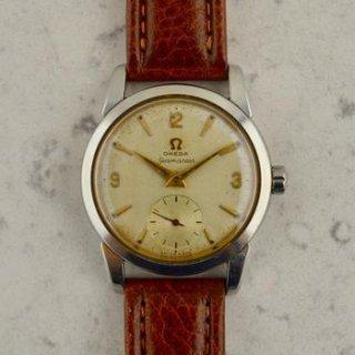 C.1954 ヴィンテージオメガ 機械式(手巻き) シーマスター 腕時計 CAL.Ω410 型番2759-5 スチール製