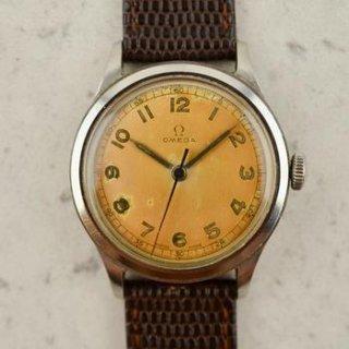 C.1954 ヴィンテージオメガ 機械式(手巻き) ミリタリーカラトラバ 腕時計 CAL.Ω30T2 型番2179-3 スチール製