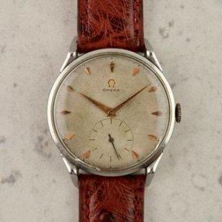 C.1952 ヴィンテージオメガ 機械式(手巻き) ジャンボカラトラバ 腕時計 CAL.Ω266 型番2603-11 スチール製
